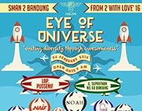 """SMAN 2 Bandung F2WL 2016 """"Eye of Universe"""""""