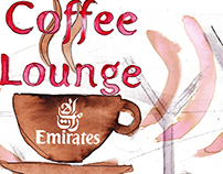 Illustrations for Emirates Airlines