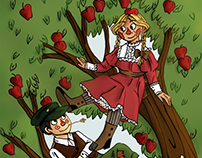 you and me in the apple tree