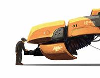 Slider Concept Art