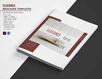 Printable Interior Designer Brochure Template