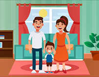 Motion Graphic about parents