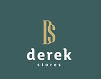 Derek Stores - Branding Stationery