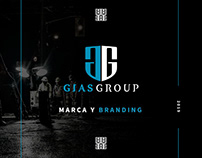 Diseño Identidad GIAS GROUP - Braco Estudio 2018