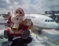 Santa visits the USA
