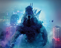 Godzilla vs Kong. Key Art