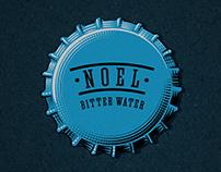Tonic water label design