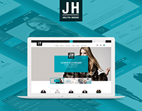 Juliya House online store redesign