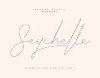 ARK Seychelle - Monoline Script Font
