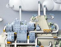 IBM Cloud Illustration