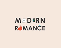 Book Cover Design: Modern Romance
