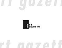Art Gazette Rebrand