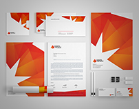 Freebie | Graphic Pyramid Identity Template