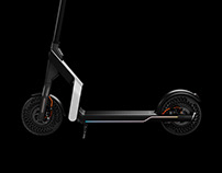 Foldable E-Scooter for Hankook Tire
