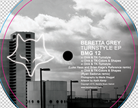 "Beretta Music 012-12"" vinyl center"