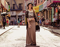NYC Chinatown - FPCO Limited Lookbook Campaign