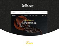 CoffeHop Website Design