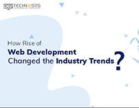How Rise of Web development Changed the Industry Trends
