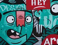 UNSW Art & Design - Mural