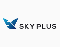 SKY PLUS AIRWAYS - BRANDING