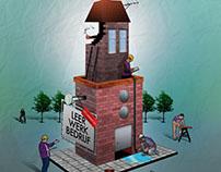 illustration magazine: Ymere werkt