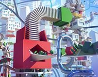McDonald's Monopoly concept art