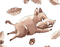 Pattern: Goffredo the wild boar