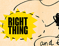 do the right thing and then screw it up anyway