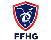 Logo FFHG ( Fédération Française de Hockey sur Glace )