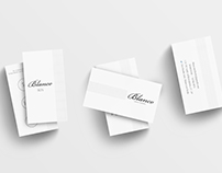 Business Card and Discount Voucher for Blanco