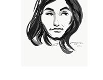 Subway portrait 6/29/17 - Jason Scott Jones