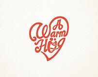 A Warm Hug branding logotype