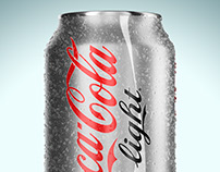 CocaCola Sweating Can