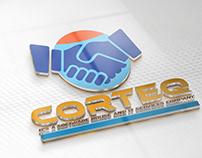 CORTEQ Software and IT Services Company Logo Design.