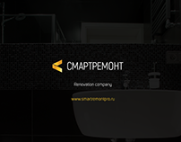 Renovation company one-page web-site