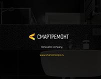 Renovation company one-page web-site