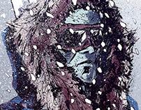 All Star Batman - Mr Freeze Variant Cover