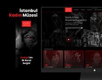 İstanbul Kadın Müzesi Arayüz Tasarımı