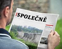 Corporate newspaper SPOLEČNĚ