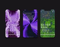 AMP FM Radio app concept