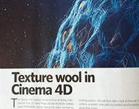 Wool planets - 3D Artist #84 - August 2015