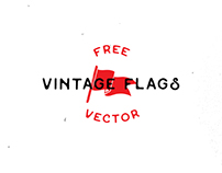 Vintage Flags Vector - Free