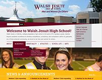 Walsh Jesuit High School Web Design/Development (15-16)