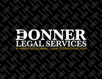 Donner Legal Services Branding Identity