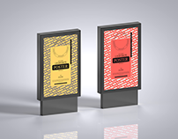 Lightbox Poster Mockup Free