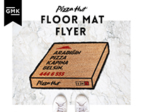 Pizza Hut / Floor Mat Flyer