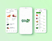 Delivery Dine Web App Concept by Anzy Designs
