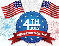 JULY 4th PROMO FOR HOT N SPICY RESTAURANT