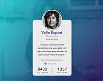 UI Profile Card Concept