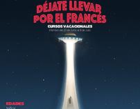 Poster déjate llevar por el francés!